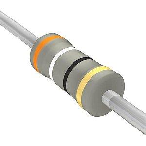 Resistor 1/4W 39R Ohms X 10 Unidades