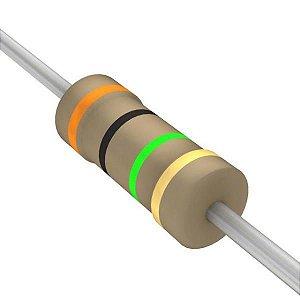 Resistor 1/4W 3M Ohms X 10 Unidades