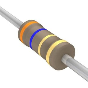 Resistor 1/4W 3R6 Ohms X 10 Unidades