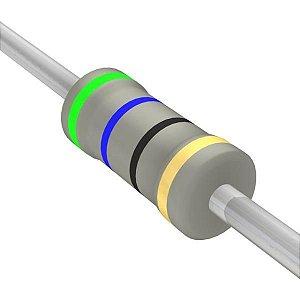 Resistor 1/4W 56R Ohms x 10 Unidades