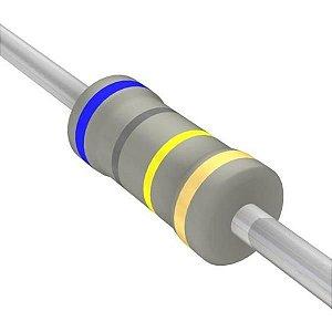 Resistor 1/4W 680K Ohms X 10 Unidades