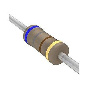 Resistor 1/4W 680R Ohms X 10 Unidades