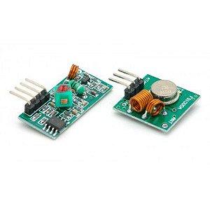 Kit Transmissor + Receptor RF 315Mhz