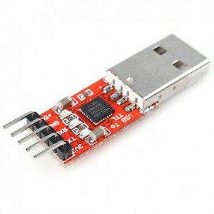 Módulo CP2102 USB para TTL 5 pinos