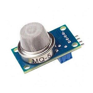 Sensor de Gás MQ-5 - GLP (Gás de Cozinha) e Gás Natural