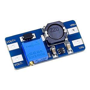 Regulador de Tensão Ajustável MT3608 Step Up - 2,5V a 28V