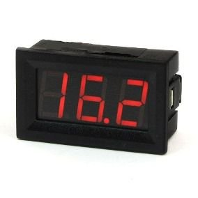 Voltimetro Digital 3 dígitos 4,5 a 30VDC