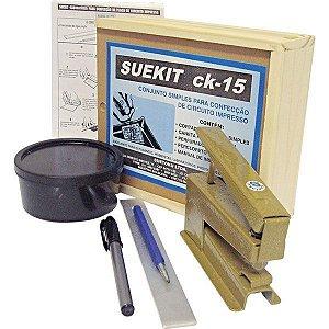 Kit Laboratório p/ Circuito Impresso CK-15 - SUETOKU
