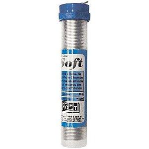 Solda Soft  Tubinho 25G 1,00mm AZUL