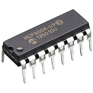 MCP3008 DIP Conversor Analógico/Digital (ADC)