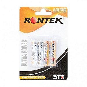 4 Pilhas AAA RONTEK 1,5v