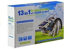 Kit 13 em 1 para Robótica Educacional com Energia Solar