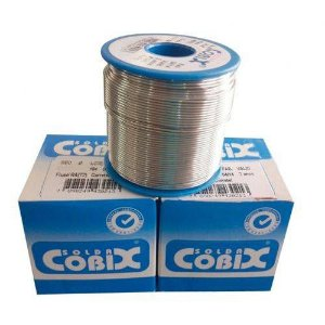 Solda Estanho Carretel 250g - 1.0 mm COBIX