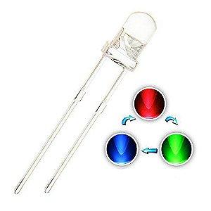 Led Difuso Multi Colorido 5mm