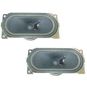 Alto Falante 2x3 1/2 Pol. 8 Ohms em Alnico Oval - Mod. Toshiba