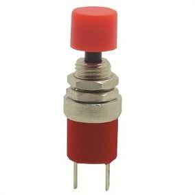 Chave Push Button Margirius Vermelho
