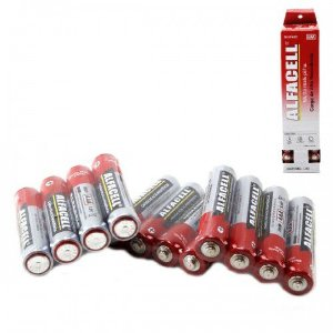 4 Pilhas AAA Alfacell 1,5v