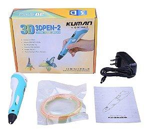 Caneta Impressora 3D 3DPEN-2