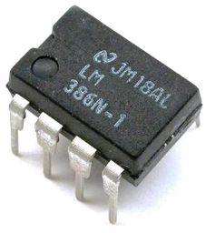 CI LM386 - AmpOp