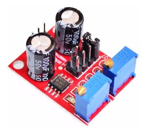Módulo NE555 Gerador de Pulso Frequência - 1Hz a 200kHz