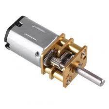 Mini Motor DC 6V N20 - com Redução 100:1 100RPM + Roda 34mm