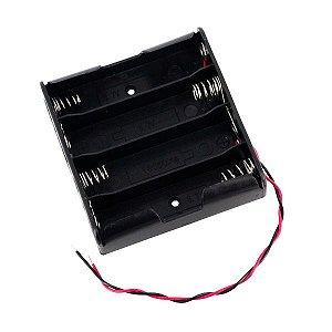 Suporte para 4 Baterias 18650