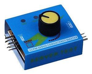 Testador de Servo Motor e ESC CCPM