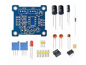 Kit DIY Módulo NE555 Gerador de Pulso Frequência - 1Hz a 200kHz