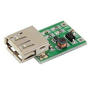 Módulo Regulador de tensão Step Up USB DC-DC - 5V