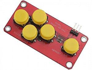 Mini Teclado Keypad Adkeypad Com 5 Botões