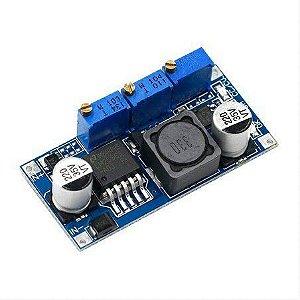 Módulo com ajuste de corrente constante e tensão Step Down LM2596
