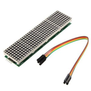 Módulo 4 Matrizes de LED 8×8 com MAX7219 (256 Leds)