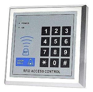 kit Controle de Acesso RFID 125Khz + 10 Tags Chaveiro
