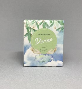Sabonete Natural e Xampu sólido DIVINO - 55gr Vegano e artesanal