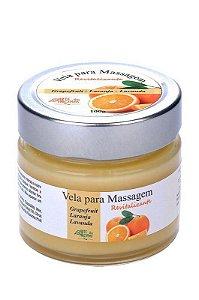 Vela para Massage Laranja Revitalizante - Arte dos Aromas 100G