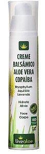 Creme Balsâmico Aloe e Vera e Copaiba - LiveAloe
