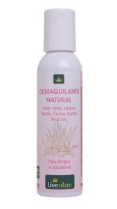Demaquilante Natural - LiveAloe 120 ML