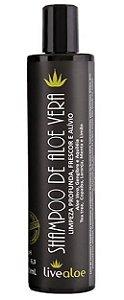 Shampoo Limpeza Profunda  Aloe Vera - LiveAloe 300 ML