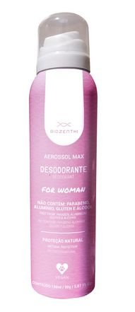 DESODORANTE AEROSSOL MAX FOR WOMAN 150 ML