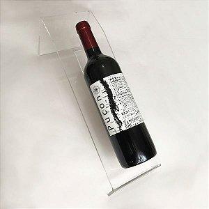 Porta Vinho em Acrílico