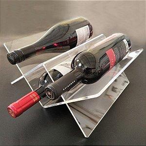 Porta Vinhos para 3 Garrafas
