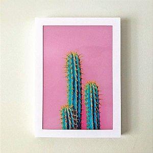 Quadro Decorativo em Acrílico Cactus