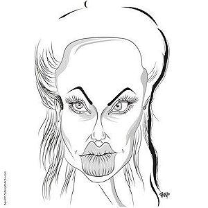 Caricatura Preto e Branco