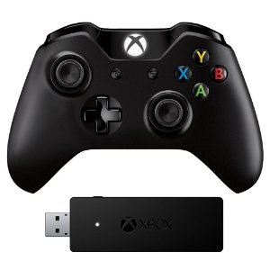 Controle Xbox One P2 Original + Adaptador Pc