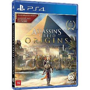 Game - Assassins Creed Origins Edição Limitada - PS4
