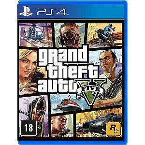 Game - Grand Theft Auto V - PS4
