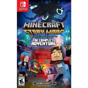 Minecraft Story Mode: The Complete Adventure - Switch