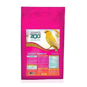 Ração Extrusada Megazoo Canário Amarelo 6kg 30% de DESCONTO *