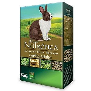 Ração Nutrópica Coelho Adulto - 500g e 1,5kg