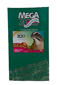 Ração Megazoo Mix Trinca Ferro Tropical - 350g e 5kg